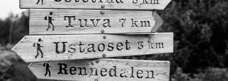 Telttur Ustaoset August 2014
