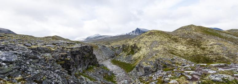 ...og et mer alpint landskap i sør