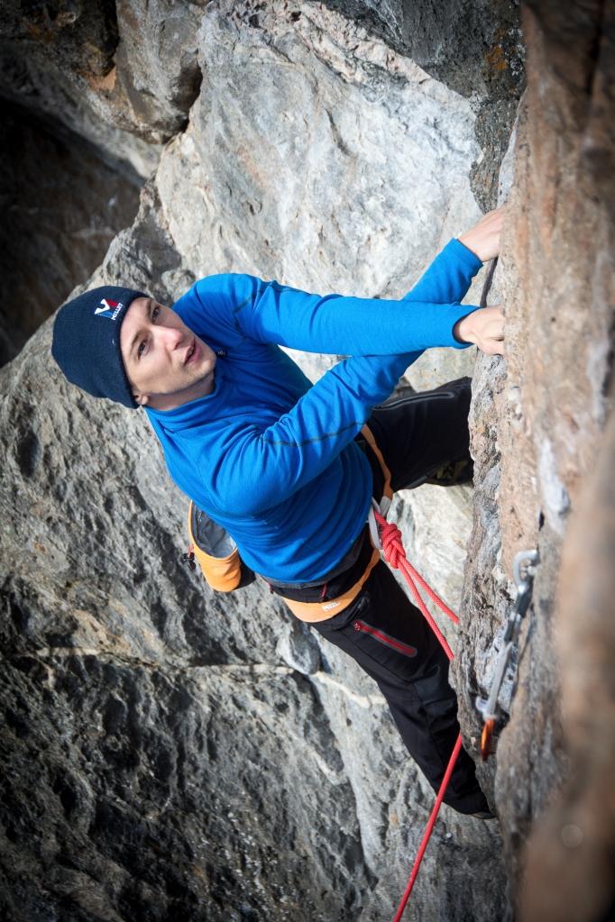Jørgens hevn, Kanskje oppdals fineste 5+, fin oppvarming med variert klatring