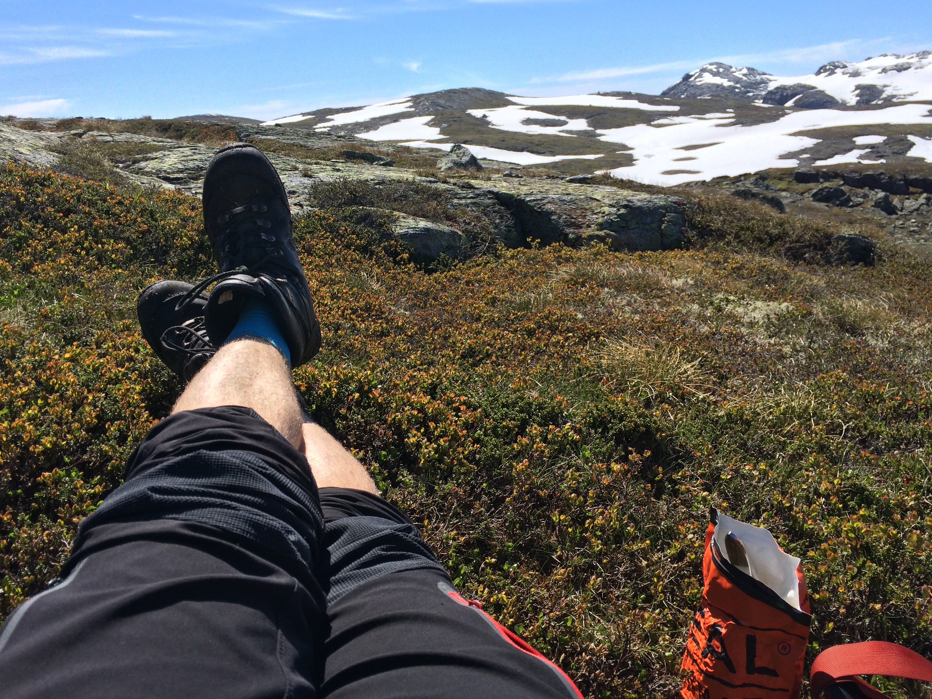 Hardangervidda på langs sommer 2017 – Finse – Haukeliseter