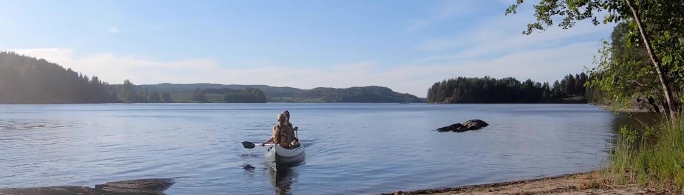 Kanotur Haldenvssdraget