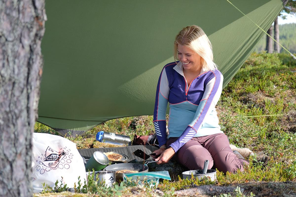 Canoe trip Femund Norway