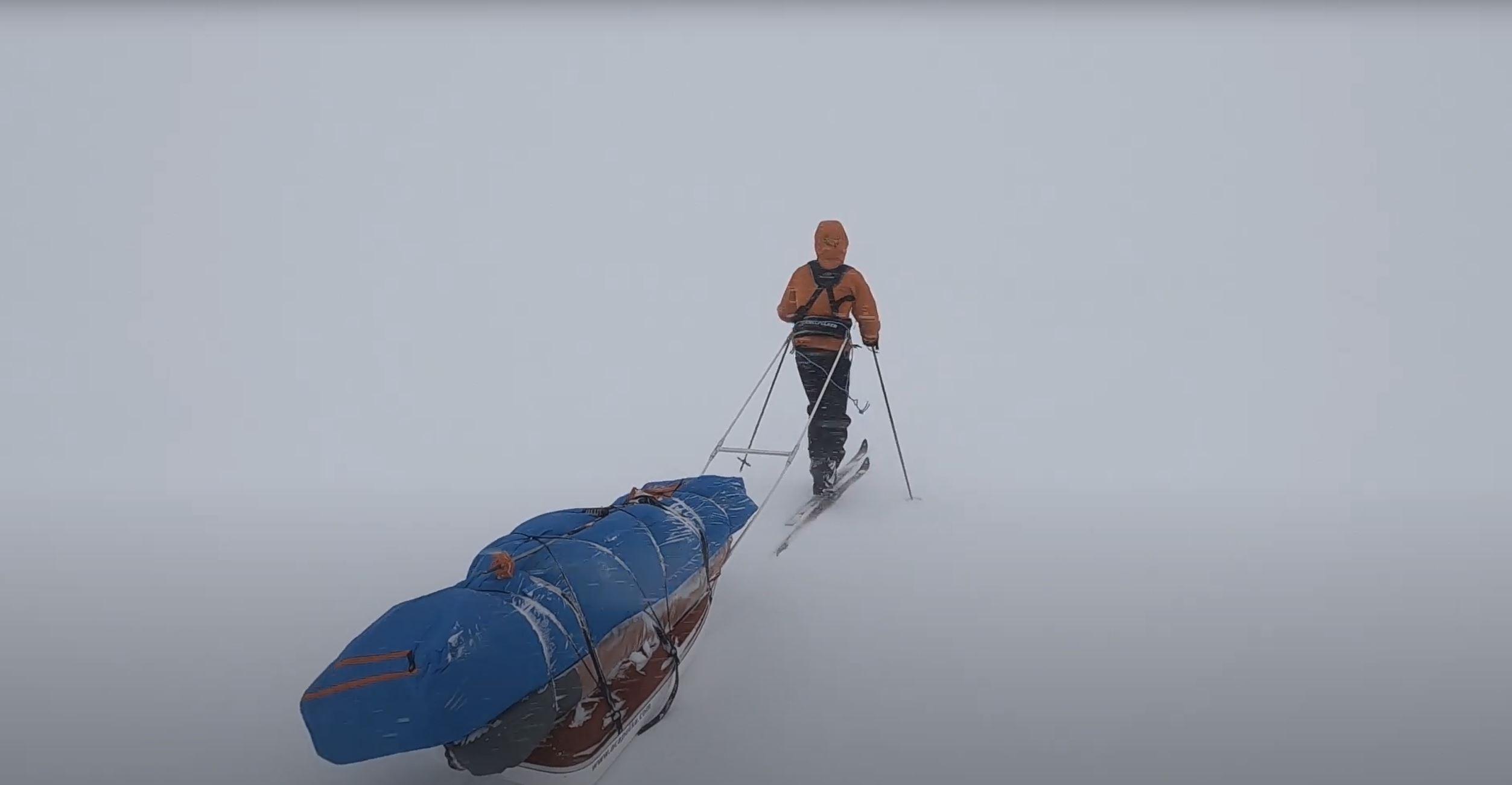 Vintertur på Hardangervidda